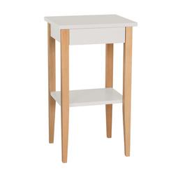 ENTLIK Bedside Table 40x35x70cm - Light Grey