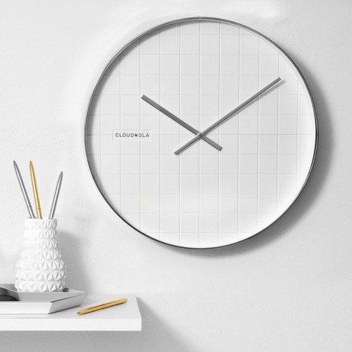 Bliss Chrome Wall Clock