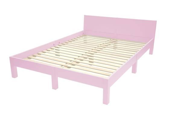 DABI Bed W 160cm x L 220 cm / Dusky Pink