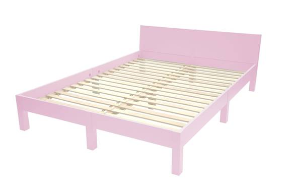 DABI Bed W 160cm x L 220cm / Dusky Pink