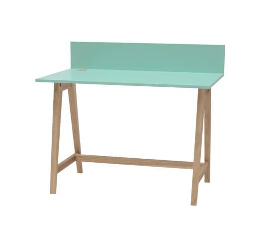 LUKA Ashwood Writing Desk 110x50cm / Mint