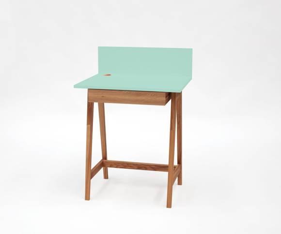 LUKA Writing Desk 65x50cm Oak / Mint