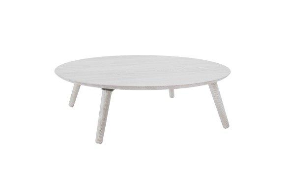 Contrast SLICE Couchtisch 100x100x31cm - Weiß