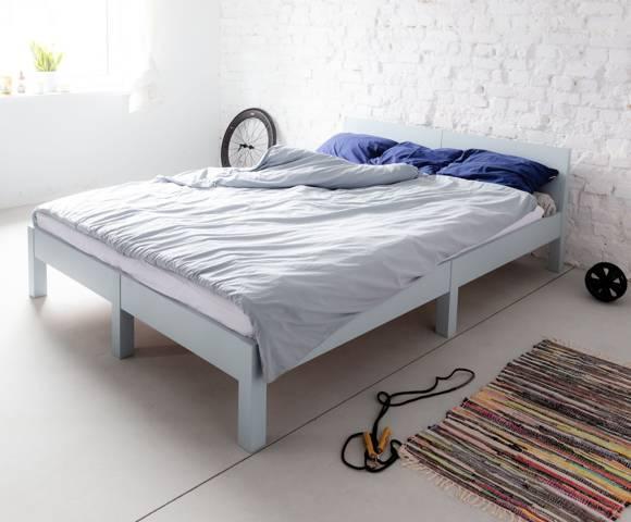 DABI Bett B 140 cm x L 200 cm / Gelb