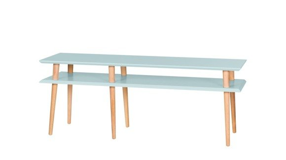 MUGO Sideboard 139x40x45 - Helltürkis